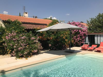 Photo for Charming villa in Provence (Mount Ventoux)  - Families' and bikers' paradise!