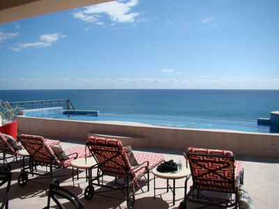 View of Sea of Cortez from Private Patio and Pool