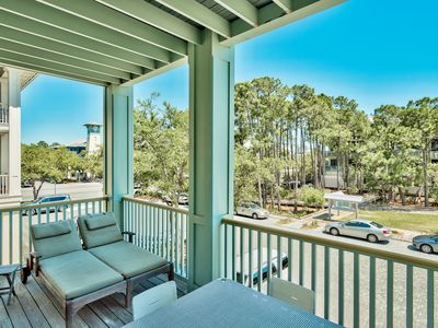 Photo for NEW RENTAL * Beautiful 2 BR * WaterColor * 6 WaterColor Blvd #201 * Steps to Beach & Community Pool