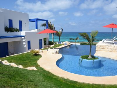 Photo for Luxury Ocean Front Villa,  6BR (12 pax) Breakfast includes + infinity pool
