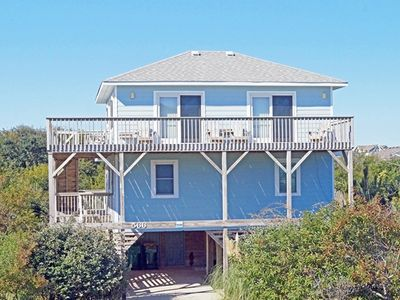 Photo for OCEANSIDE 4 BRs, Screened-in Porch, Ocean Views and 200 feet to the beach.