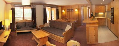 Photo for Beautiful apartment 6 to 8 people at the foot of the slopes with WI-FI