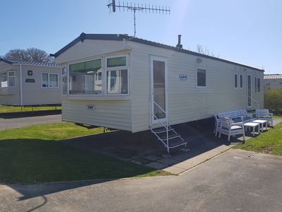 Photo for 25 Culver Reach, 4 Bed Caravan with free seasonal entertainment passes