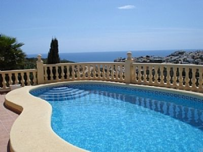 Photo for Luxurious Villa with Private Pool, Sea Views, Aircon and free WiFi