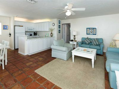 Photo for Unit D1: 2 BR / 2 BA beach front in Sanibel, Sleeps 6
