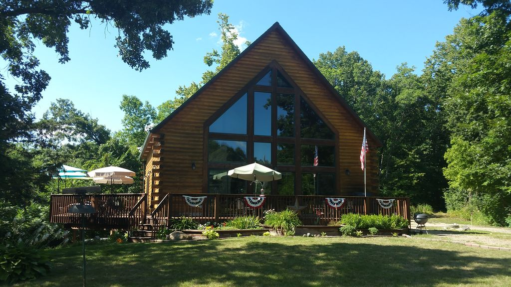 Beautiful Secluded Home On Lake Washington HomeAway Dassel - And architectural cottages on secluded private pond homeaway