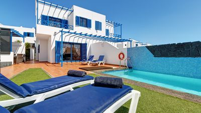 Photo for Modern Villa With Private Electrically Heated Pools And Wifi