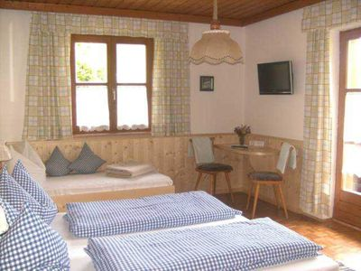 Photo for Double room with shower / WC and balcony and TV in room 3 - child-friendly recreation farm