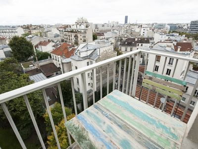 Photo for Well-designed flat with balcony and view over Paris