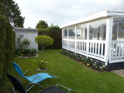 Photo for Mobil home any comfort, camp-site 5 stars in Deauville-Saint Arnoult