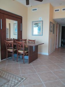 Our latest update - ceramic tile in the living area.