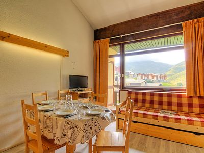 Photo for Apartment Les Asters in Les Ménuires - 6 persons, 1 bedrooms
