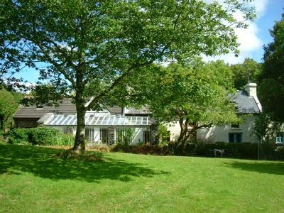 Photo for Idyllic west cork cottage farmhouse with 3 acres and river,Skibbereen