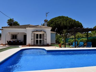 Photo for Wonderful Villa with swimming pool for your holidays in Novo Sancti Petri