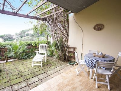 Photo for Nice two- room apartment in Bagnaia with garden and view
