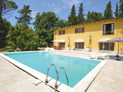Photo for Wonderful private villa for 10 guests with A/C, hot tub, private pool, TV, pets allowed and park...