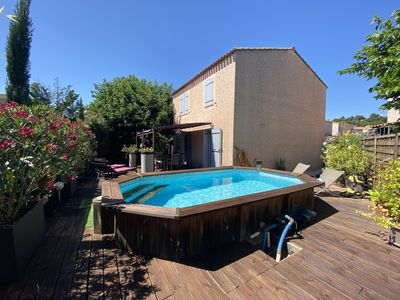 Photo for House 10 minutes from Aix en Provence