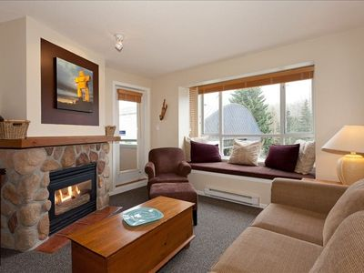 Photo for Revamped Centrally Located Suite - Amazing Views of Blackcomb! Free Wifi!