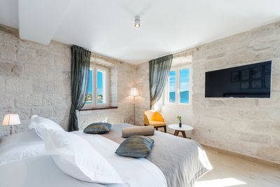 The furniture was carefully selected to suit guest's comfort and aesthetics