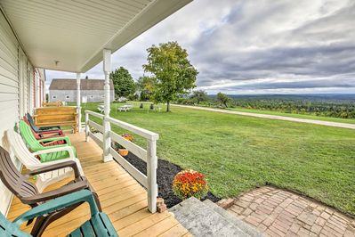 Book your escape to this 4-bedroom, 1-bath vacation rental house in Greene!