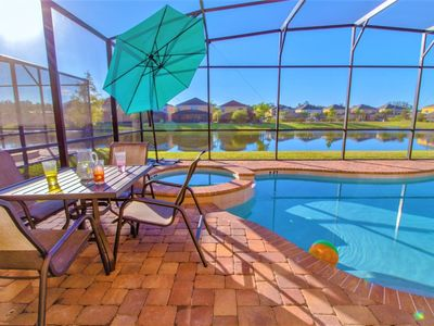 Photo for Near Disney World - Golden Palms Resort - Welcome To Spacious 6 Beds 6 Baths  Pool Villa - 6 Miles To Disney