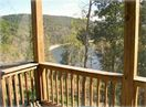 The screened porch provides a nice cool place to relax & enjoy the views!