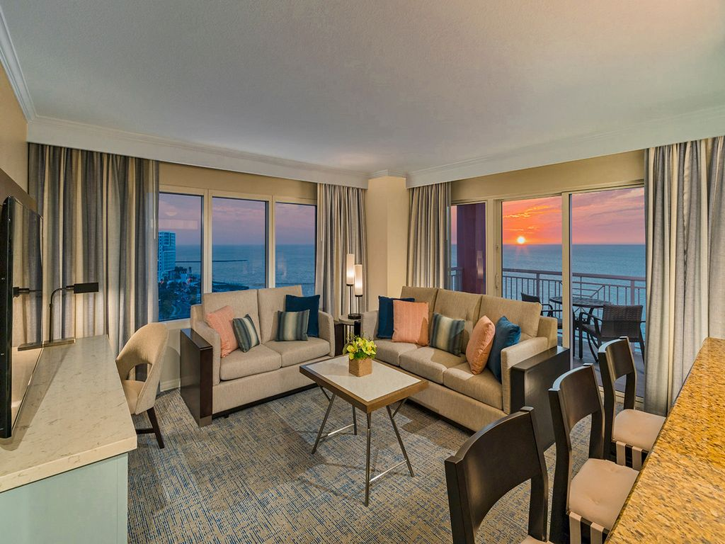 Hyatt regency deluxe two bedroom suite on vrbo - Hyatt regency clearwater 2 bedroom suite ...