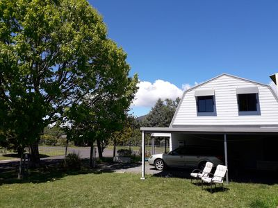 Photo for comfortable home with mountain-views and wifi, close to Tongariro Crossing