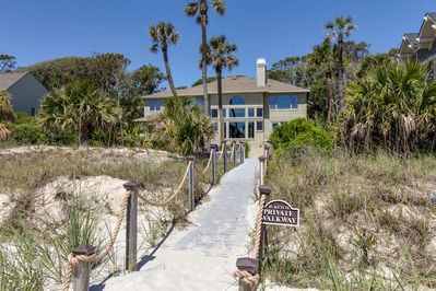 Your own private walkway to the beach