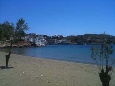 Photo for Seafront maisonette in Glyfo beach, Sifnos