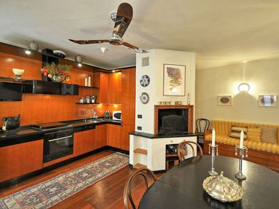 Photo for Casa Montemarcello is a beautiful apartment in the hear of the hemlet, 2 bedrooms 2 bathrooms sleeps