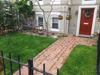 Photo for Walk/Metro to Everything in DC! Charming, Historic Apt in Capitol Hill