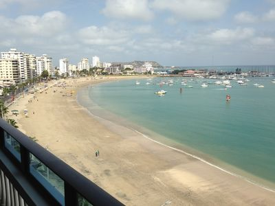 Photo for Salinas, Ecuador Ocean Front Malecon Area 7th Floor Beautiful 3 Br/2.5 Ba Condo