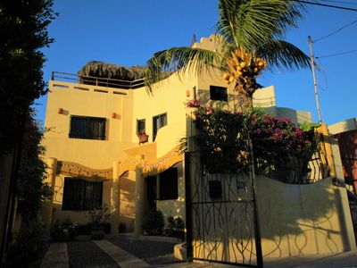 Photo for Casa la Ola - beautiful house with pool and garden by the beach