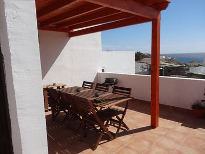 Photo for Casa Lagarto Lovely holiday home for 6 people, 3 bedrooms, terrace with sea view