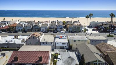Photo for Location, Location, Location! 2bd 1ba Mid-Century Surf Pad steps to sandy beach.