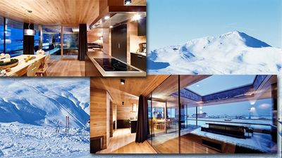 Photo for Luxury chalet right on the ski lift / ski in - ski out
