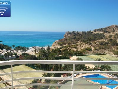 Photo for Costa Blanca ❤ Sunny beachfront holiday retreat ❤ amazing views ❤ free wifi