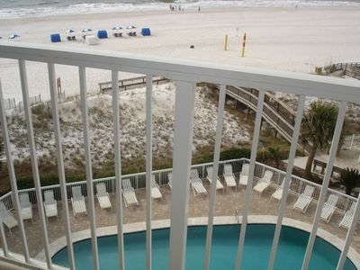 Photo for Best beachfront view at Seaside Beach and Racquet Club