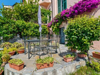 Photo for Graceful Apartment in Cervo with Garden
