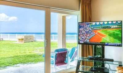 Photo for ** Oceanfront ** Ground Level with Excellent View of the Ocean