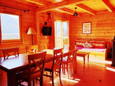 Photo for Wooden chalets in the heart of a family resort