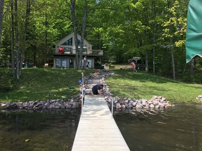 Photo for Modern Cottage on Smokey Lake ~ Incredible Sunsets ~ ATV Trails!