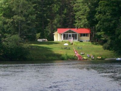 Photo for Authentic Family Camp on Lake Algonquin, tons of Toys and Amazing Views
