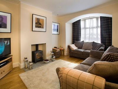 Photo for Luxury 2 Bedroom Holiday Cottage In The Heart Of Cartmel Village. Adults Only