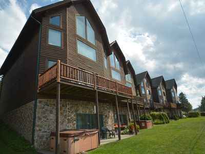 Photo for Enjoy lake access and ski slope views!