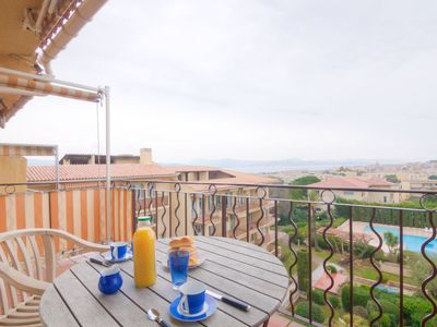 Photo for One bedroom Apartment, sleeps 2 in Saint-Tropez with Pool and WiFi