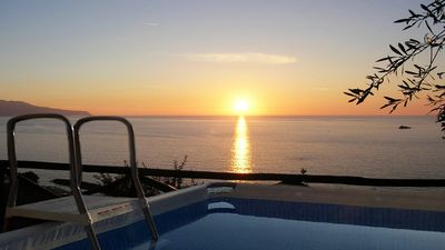 Amazing villa with large terrace, private pool and Isle of Capri view sorrento