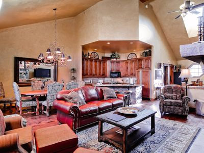 Photo for Luxurious, Multi-Level Townhome w/Private Balcony for Great Summer Views