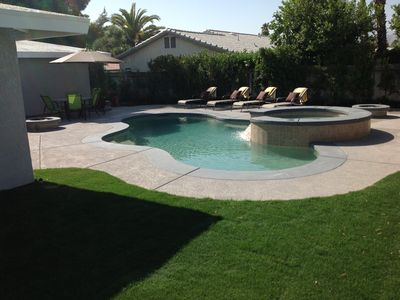 Photo for Beautiful Private Pool and Spa house in Palm Springs , 3 bedroom